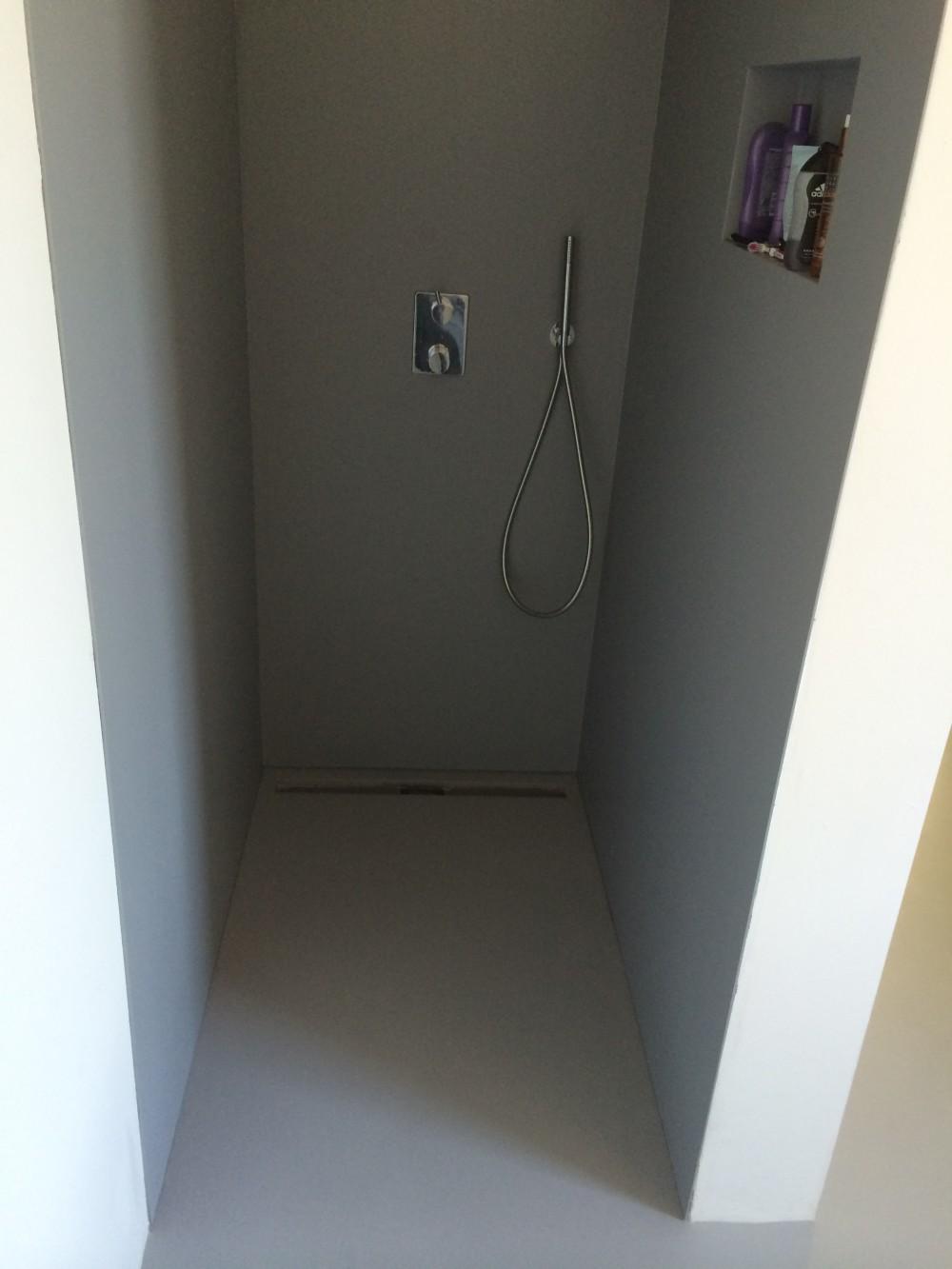 badkamer wanden glad coating sikkens stucadoor stukadoor ludwig ...