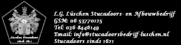 Stucadoor Ludwig Lüschen